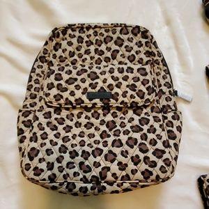 Vera Bradley Leopard print backpack.
